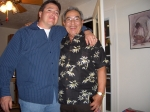 Paul Pando and Son Mark, Paul's 70th B day party